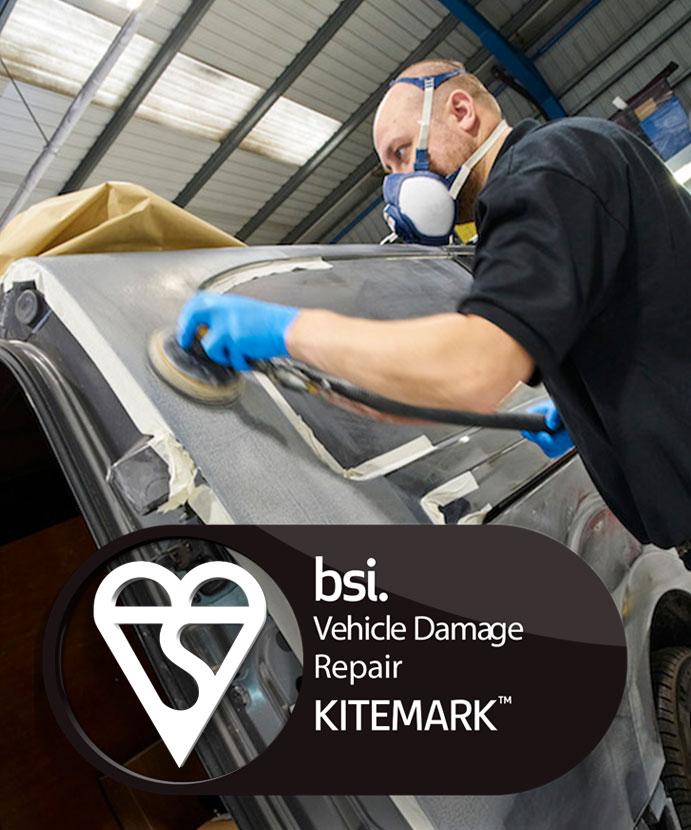 BSI Kitemark Bodyshop Chester North Wales